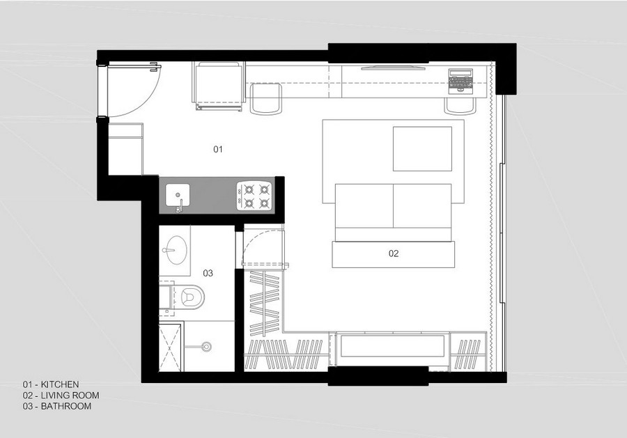 мултифункционален апартамент в Бразилия - 8
