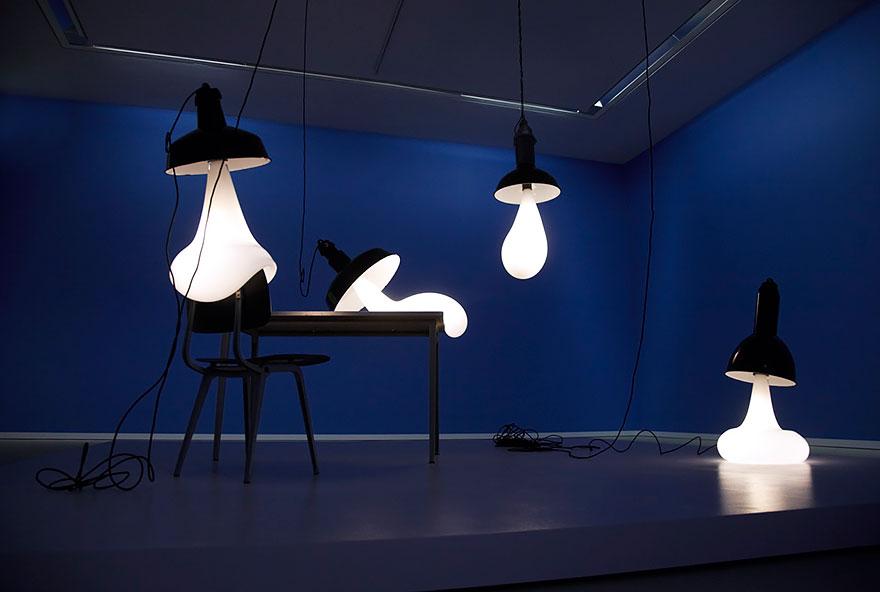 разтапящите се лампи - 1