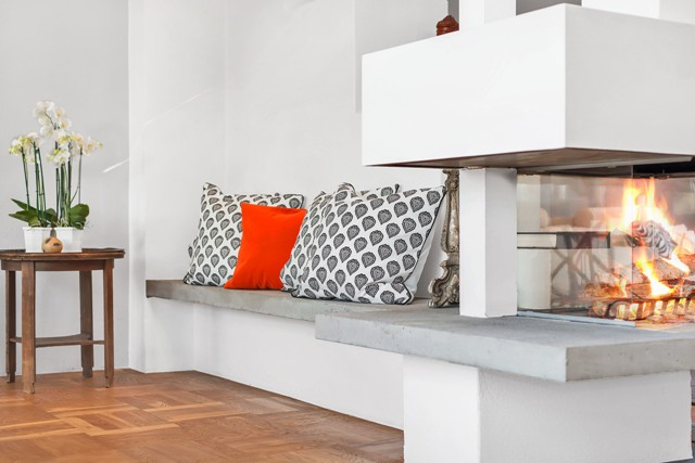 свеж просторен скандинавски апартамент - 10