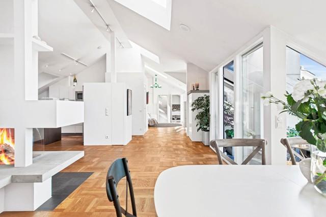 свеж просторен скандинавски апартамент - 2