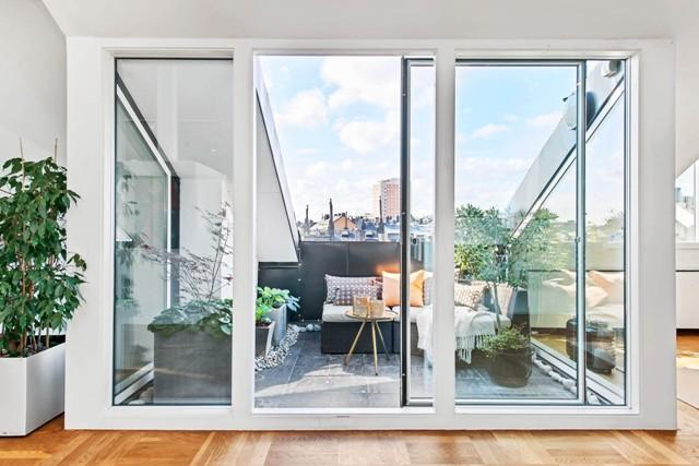 свеж просторен скандинавски апартамент - 3