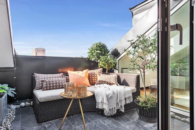свеж просторен скандинавски апартамент - 4