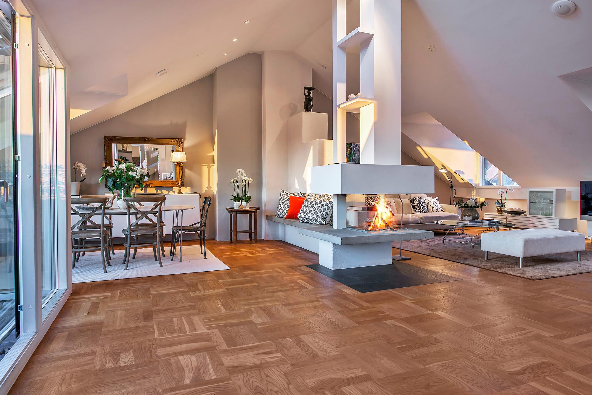 свеж просторен скандинавски апартамент - 7