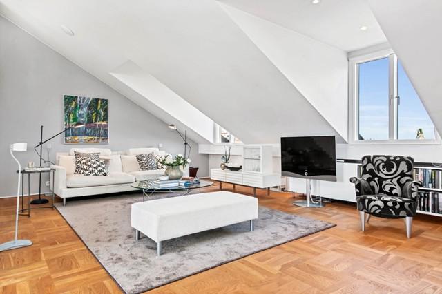 свеж просторен скандинавски апартамент - 8