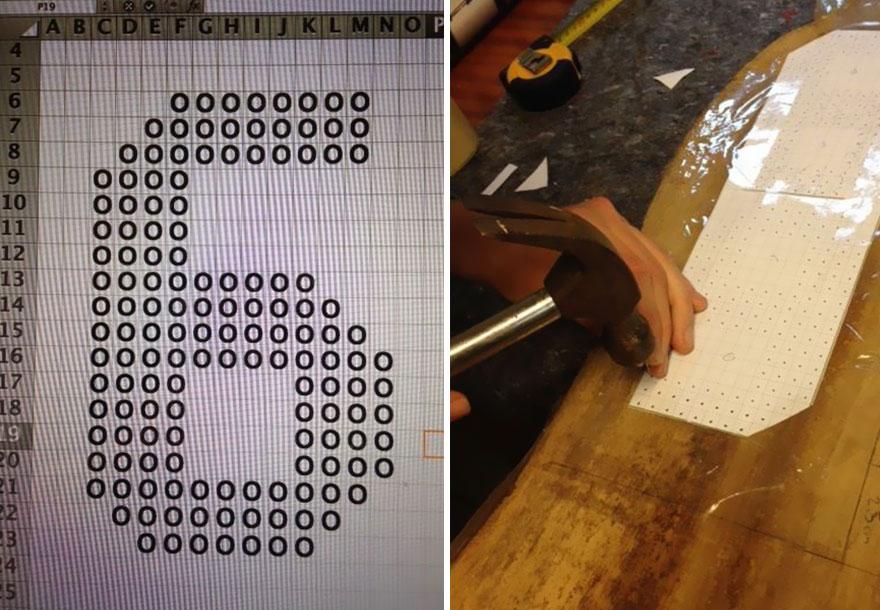 табела с номера направи си сам - 4