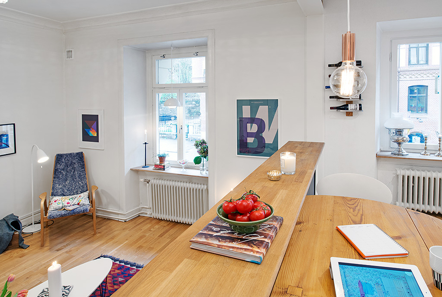 чаровен скандинавски апартамент - 1