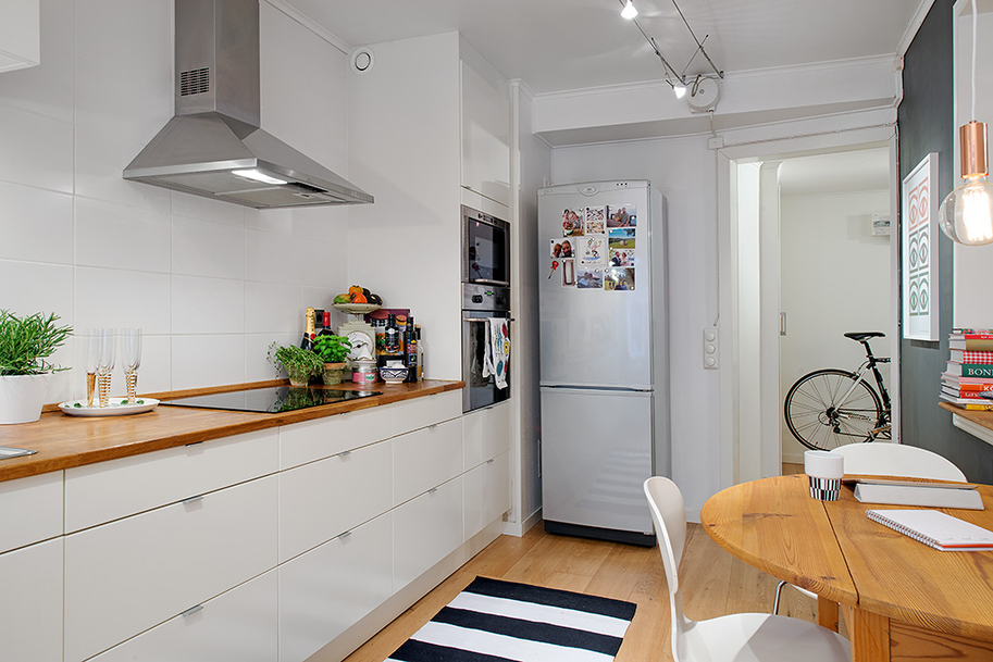 чаровен скандинавски апартамент - 13