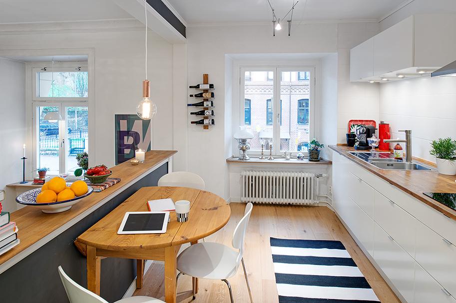 чаровен скандинавски апартамент - 2