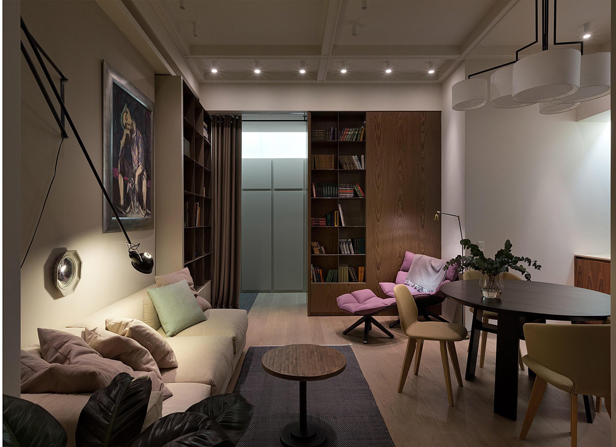 красив двустаен апартамент - 5