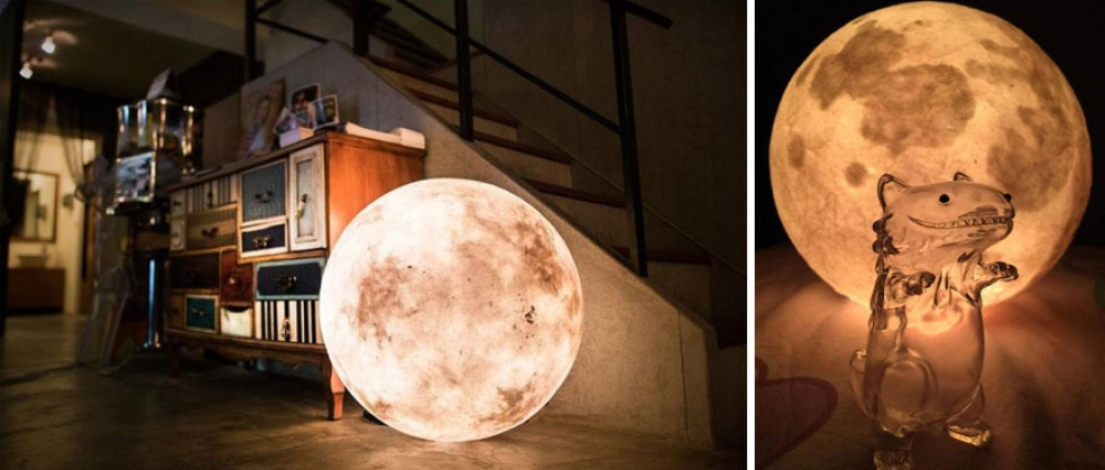 Лампа като Луна - 2