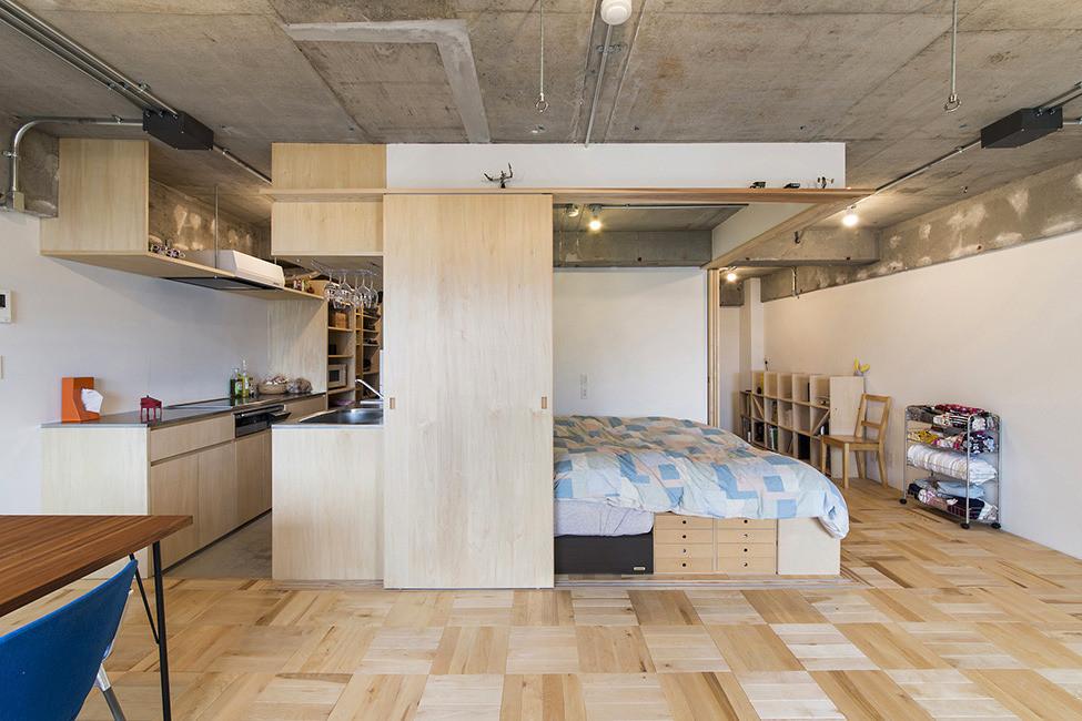 Спалня с плъзгащи врати - 1