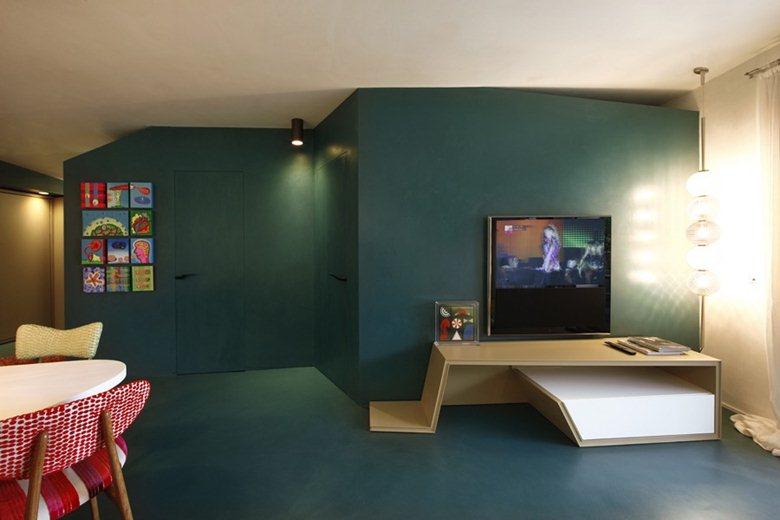 апартаментът с цветните кутии - 9