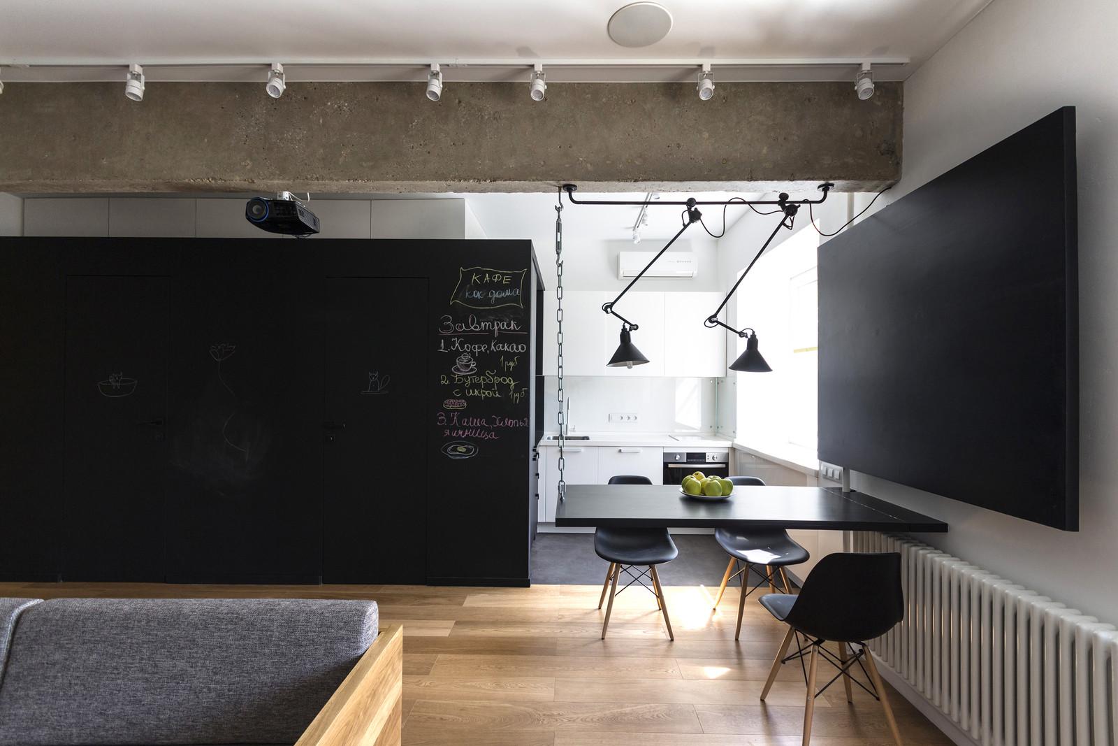 апартамент в Москва - кухня