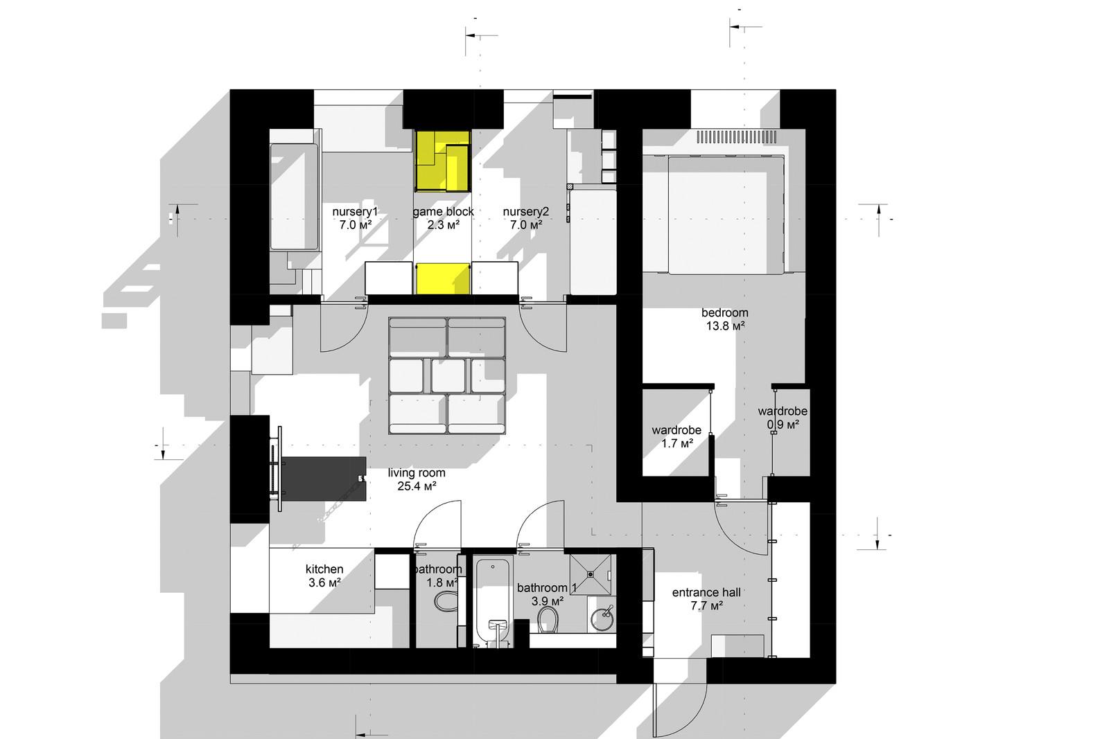 апартамент със зона за игра - 10