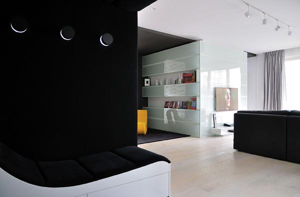 жилище с оригинален и модерен интериор - 13