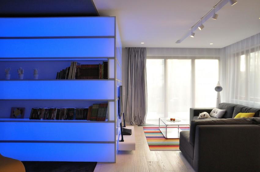 жилище с оригинален и модерен интериор - 4