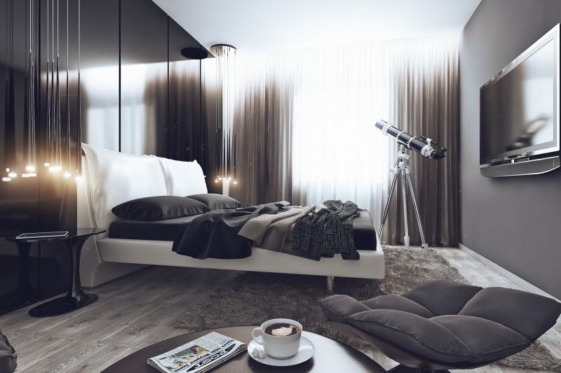 идеи за мъжка спалня - 16