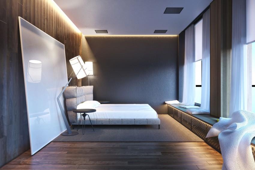 идеи за мъжка спалня - 6