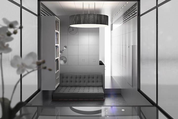 касита студио, което може да се мести - интериор 2