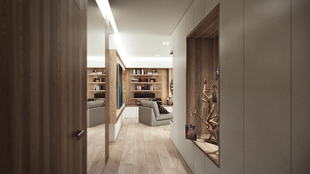 красиво семейно жилище с дървени акценти - 10