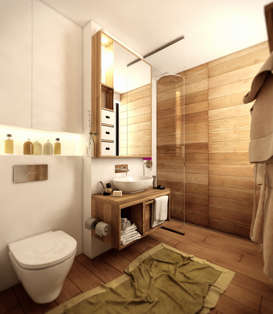красиво семейно жилище с дървени акценти - 11