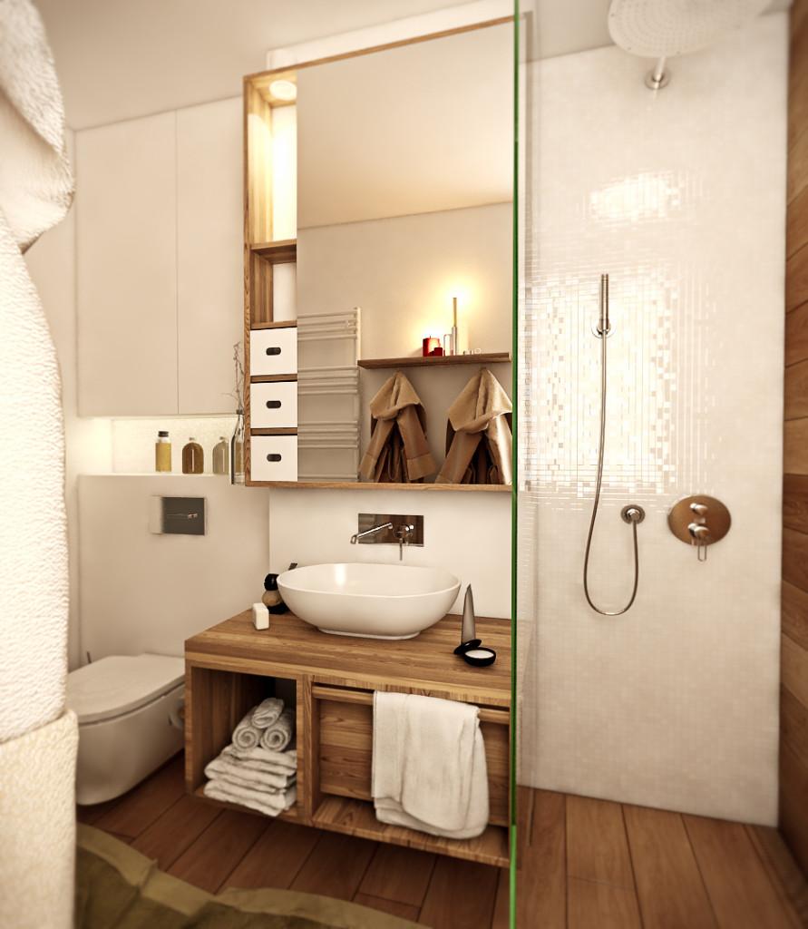 красиво семейно жилище с дървени акценти - 12