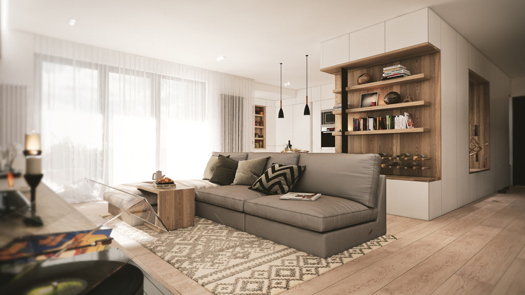 красиво семейно жилище с дървени акценти - 2