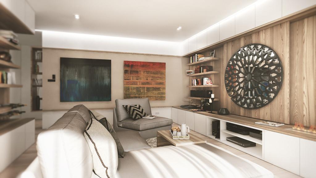 красиво семейно жилище с дървени акценти - 4