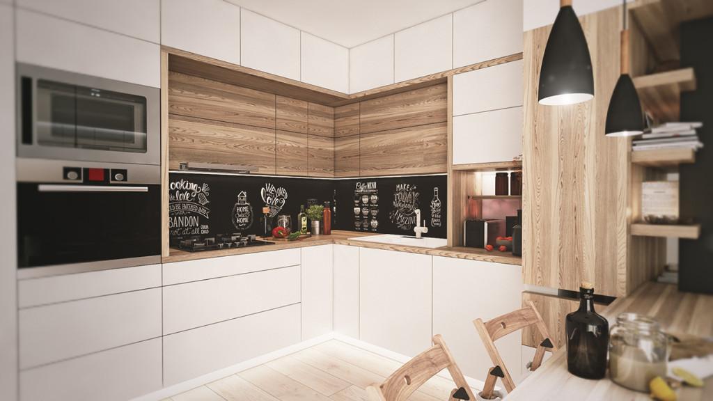 красиво семейно жилище с дървени акценти - 9