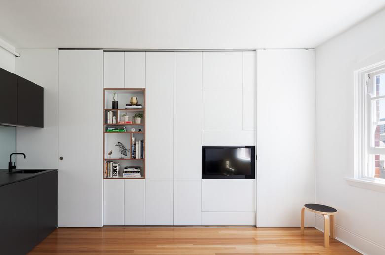 малък апартамент 27 кв. м - 2