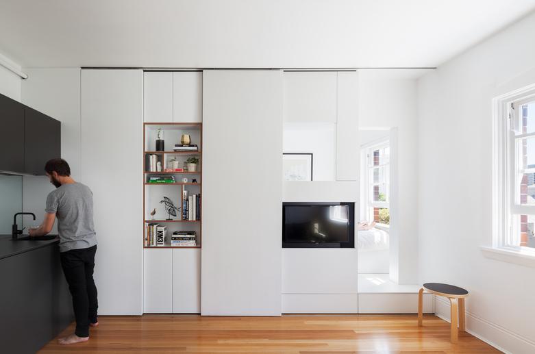 малък апартамент 27 кв. м - 3