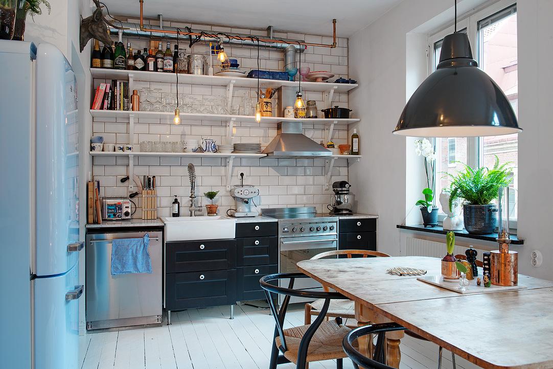 малък шведски апартамент - 10