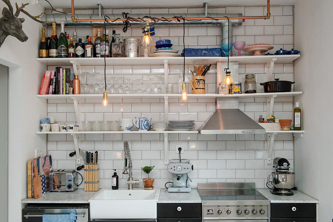малък шведски апартамент - 13