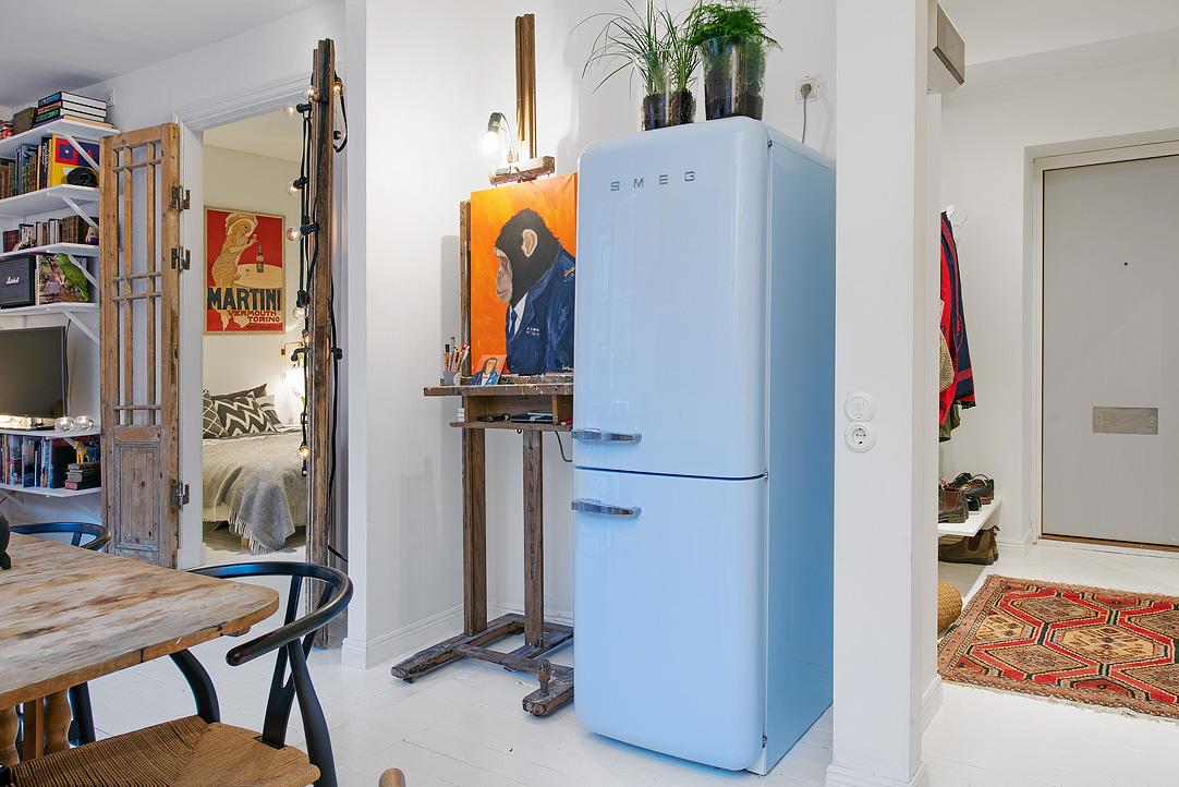 малък шведски апартамент - 14