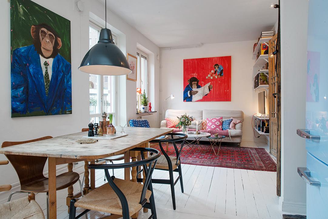 малък шведски апартамент - 15