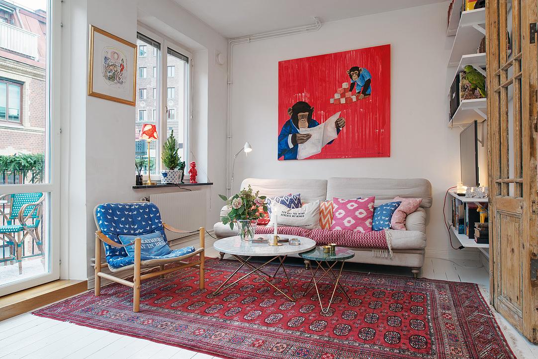 малък шведски апартамент - 16