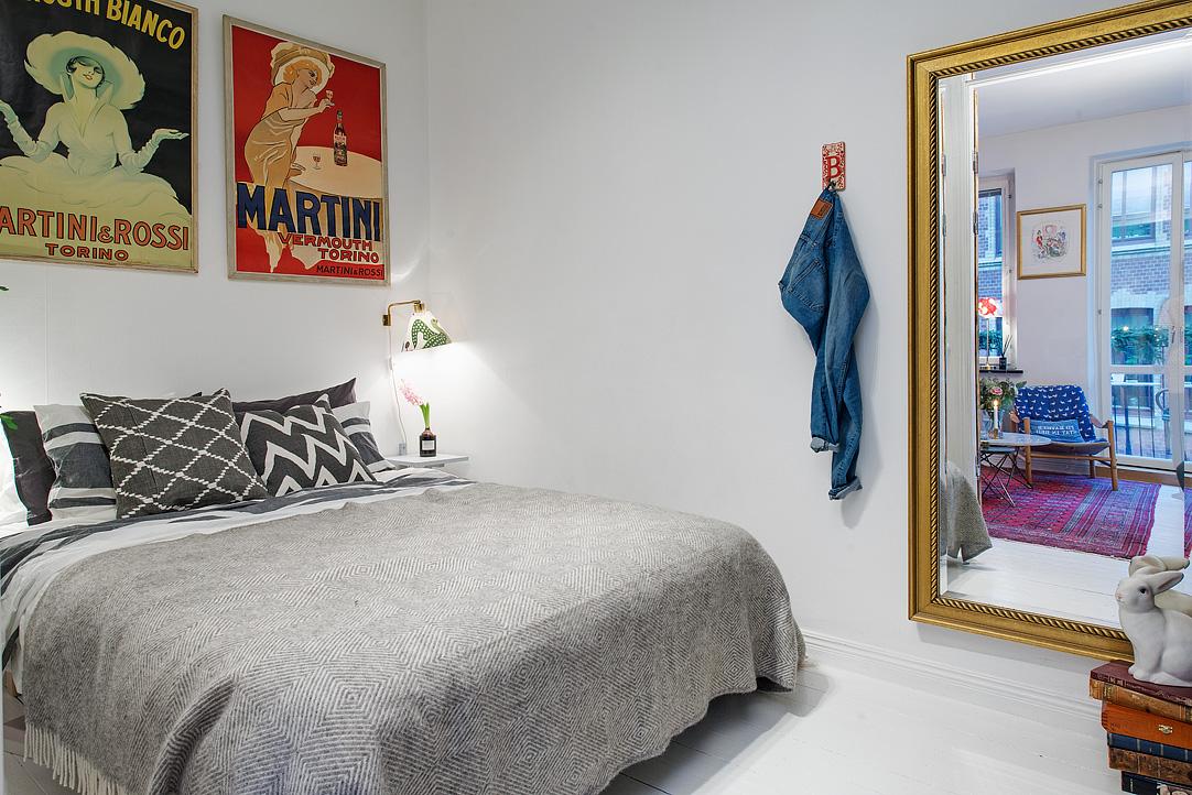 малък шведски апартамент - 19