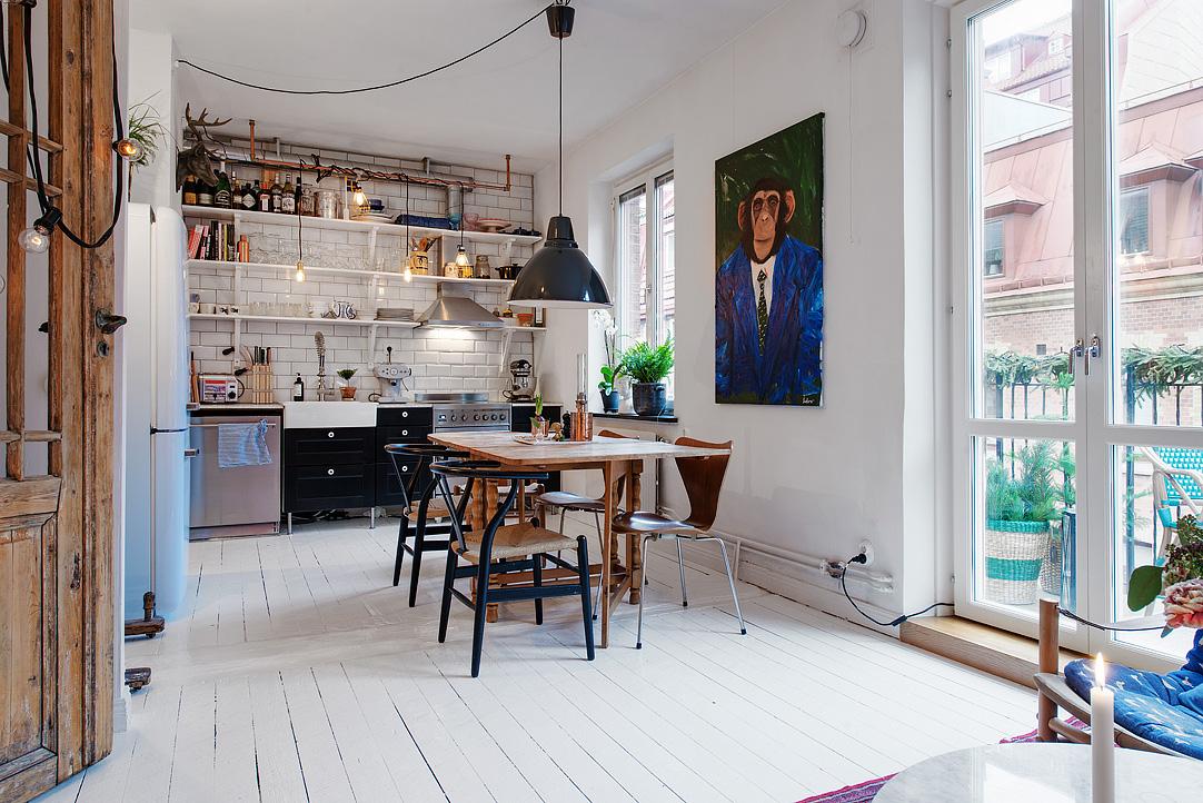 малък шведски апартамент - 2