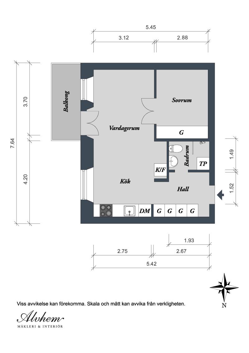 малък шведски апартамент - 23