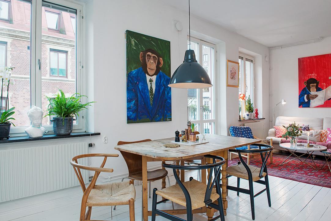 малък шведски апартамент - 8