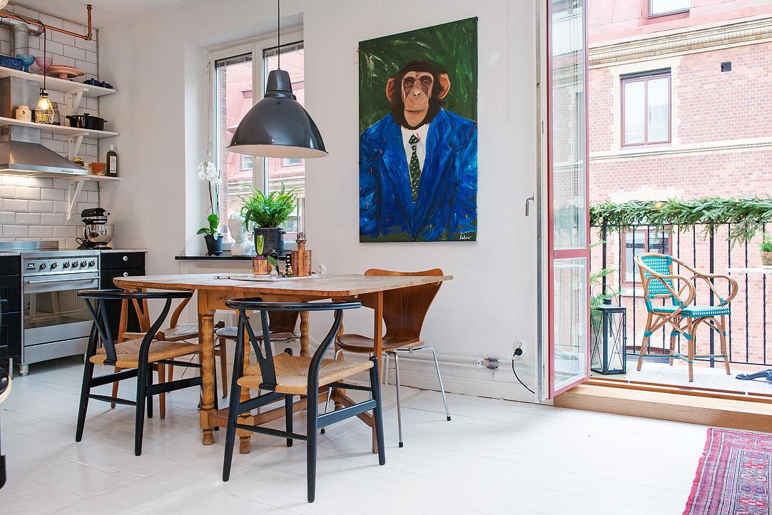 малък шведски апартамент - 9