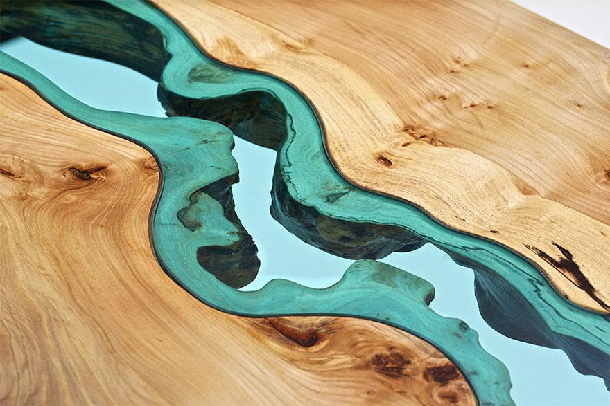 маса стъклена река 2