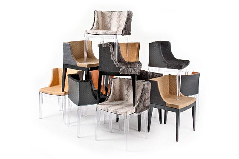 мебелите на лени кравиц столове