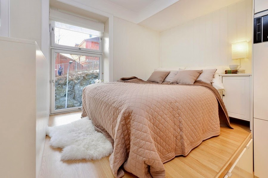 перфектен пример за малък апартамент - 10