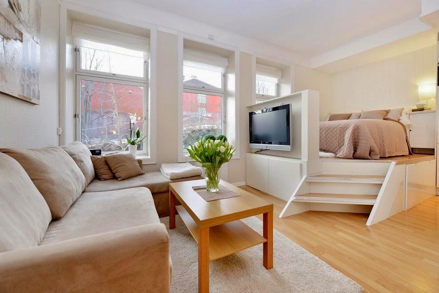 перфектен пример за малък апартамент - 2