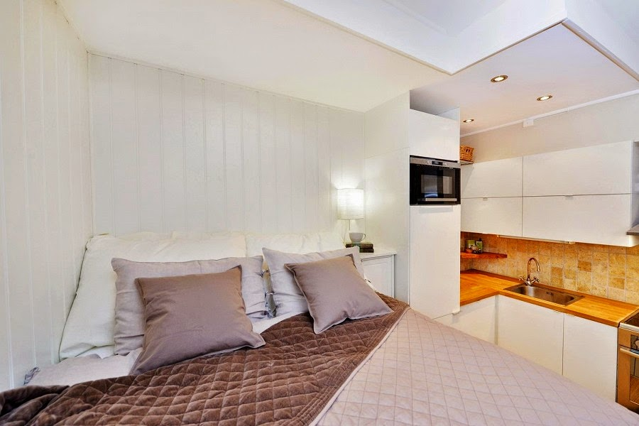 перфектен пример за малък апартамент - 6