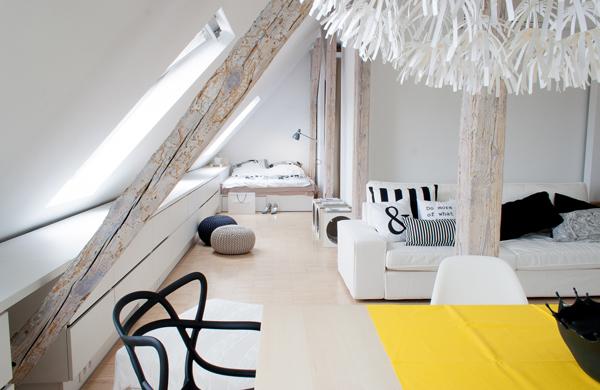 светло таванско жилище - 4