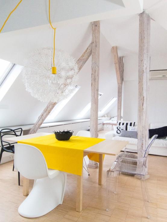 светло таванско жилище - 5