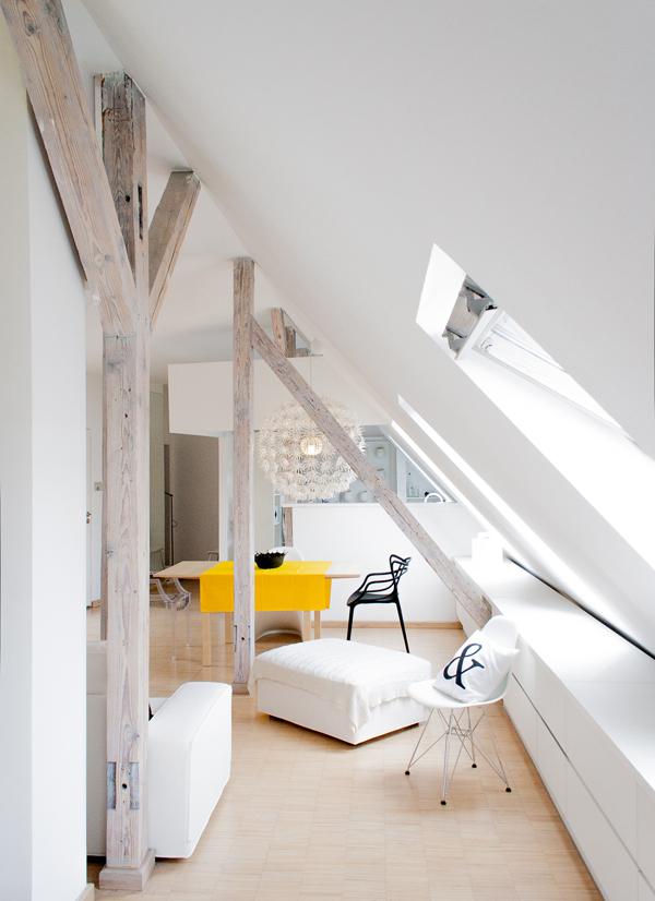 светло таванско жилище - 8