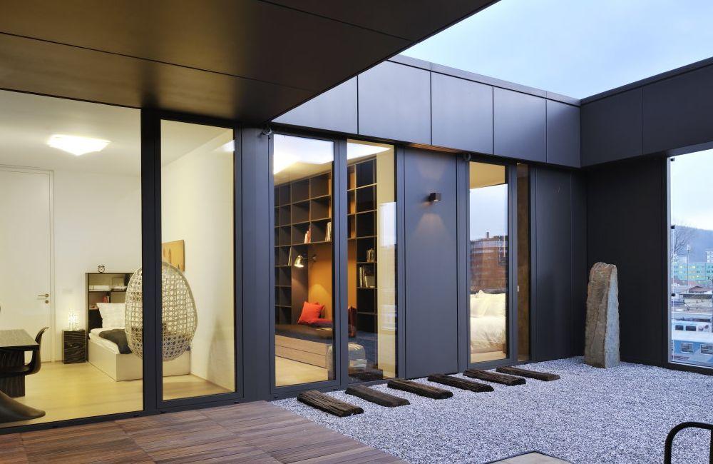 семеен апартамент с огромна тераса - 10